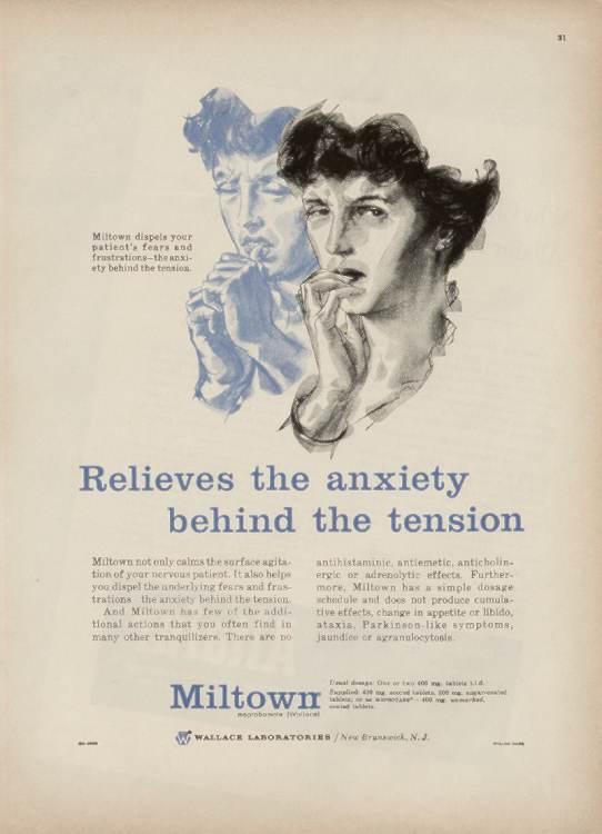 Miltown, Equanil (Meprobamate) Addictions - Drug Addiction Treatment