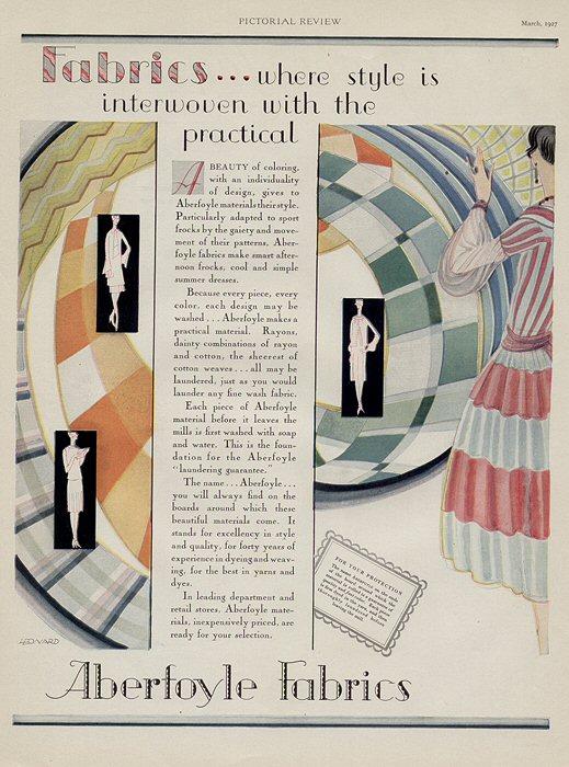 art deco fashion images. 1927 ART DECO ABERFOYLE